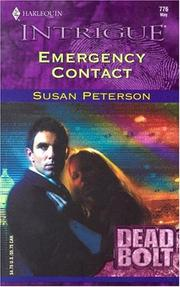 Cover of: Emergency contact | Peterson, Susan