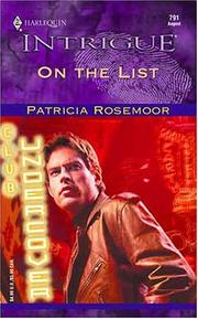 Cover of: On the list | Patricia Rosemoor