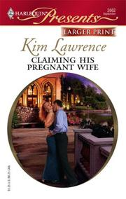 Cover of: Claiming His Pregnant Wife