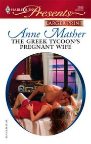 Cover of: The Greek Tycoon's Pregnant Wife by Anne Mather