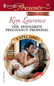 Cover of: The Spaniard's Pregnancy Proposal