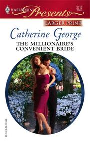 Cover of: The Millionaire's Convenient Bride by Catherine George