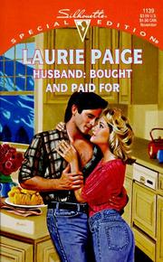 Cover of: Husband | Laurie Paige