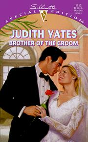 Cover of: Brother Of The Groom | Yates