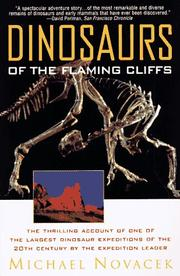 Cover of: Dinosaurs of the Flaming Cliff
