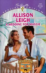 Cover of: Wedding For Maggie  (Men Of The Double-C Ranch) (Silhouette Special Edition, 1241: Men of the Double C Ranch)