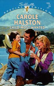 Cover of: Child Most Wanted  (Family Arch)
