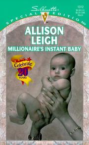 Cover of: Millionaire'S Instant Baby (So Many Babies)