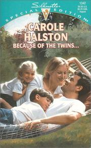 Cover of: Because Of The Twins...
