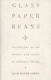 Cover of: Glass, Paper, Beans