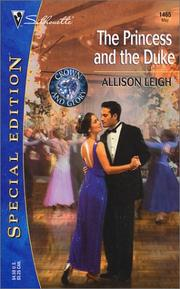 Cover of: The Princess and the Duke