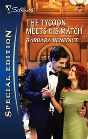 Cover of: The Tycoon Meets His Match (Silhouette Special Edition) | Barbara Benedict