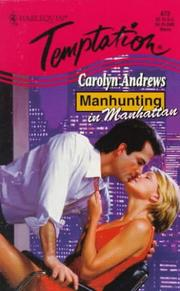 Cover of: Manhunting In Manhattan (Manhunting...)