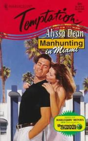 Cover of: Manhunting In Miami (Manhunting ...)