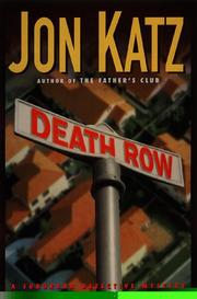 Cover of: Death row: a suburban detective mystery