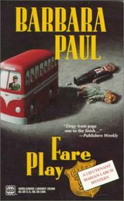 Cover of: Fare Play