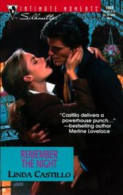 Cover of: Remember the Night (Men in Blue)