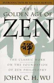 Cover of: The golden age of Zen