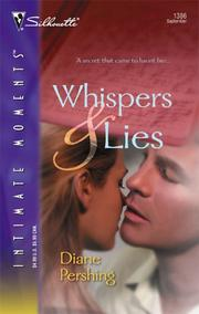 Cover of: Whispers and lies | Diane Pershing