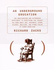 Cover of: An underground education