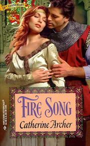 Cover of: Fire Song  (10th Anniversary Promotion) (Historical , No 426)