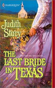 Cover of: Last Bride In Texas