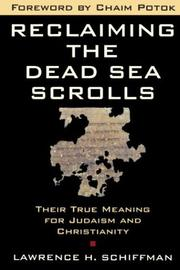 Cover of: Reclaiming the Dead Sea scrolls