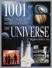 Cover of: 1001 things everyone should know about the universe