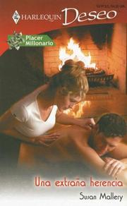 Cover of: Una Extrana Herencia: (A Peculiar Inheritance) (Harlequin Deseo (Spanish))