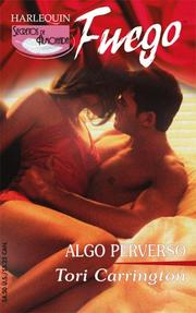 Cover of: Algo Perverso: (Something Wicked) (Fuego)