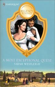 Cover of: A Most Exceptional Quest | Westleigh