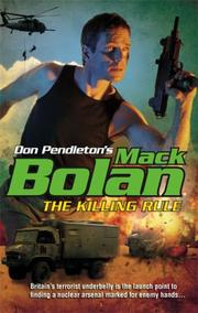 Cover of: The Killing Rule