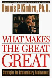 Cover of: What Makes Great Great