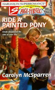 Cover of: Ride a Painted Pony | Carolyn McSparren