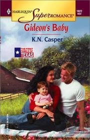 Cover of: Gideon's Baby