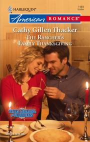 Cover of: The Rancher's Family Thanksgiving