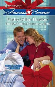 Cover of: The Rancher's Christmas Baby