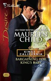 Cover of: Bargaining For King's Baby
