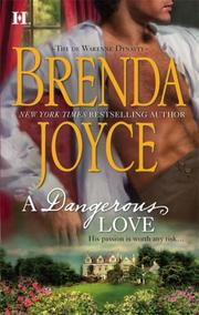 Cover of: A Dangerous Love (de Warenne Dynasty)