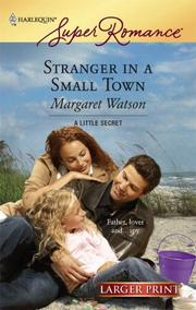 Cover of: Stranger In A Small Town