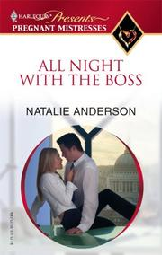 Cover of: All Night With The Boss (Harlequin Presents: Pregnant Mistresses) by Natalie Anderson