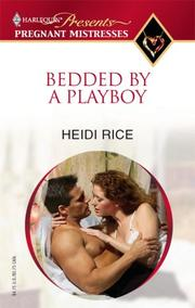 Cover of: Bedded By A Playboy (Harlequin Special Releases: Pregnant Mistresses)