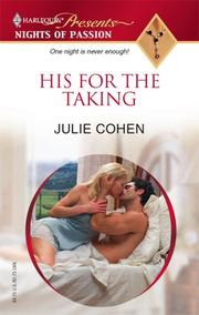 Cover of: His For The Taking