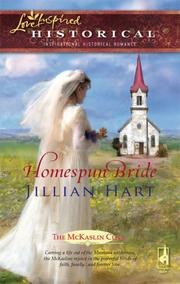 Cover of: Homespun Bride (The McKaslin Clan, Book 15) (Steeple Hill Love Inspired Historical #2)