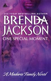 Cover of: One Special Moment (Arabesque)