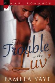 Cover of: The Trouble With Luv'