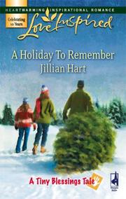Cover of: A Holiday to Remember (A Tiny Blessings Tale #6) (Love Inspired #424)