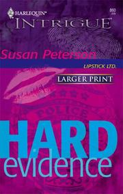 Cover of: Hard Evidence (Intrigue)