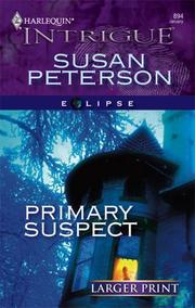 Cover of: Primary Suspect