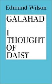 Cover of: Galahad And I Thought Of Daisy